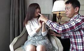 Casting filmando porno!