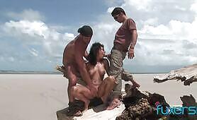 Szex a tengerparton!